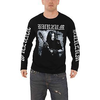 Burzum T Shirt Anthology 2018 band logo new Official Mens Black Long Sleeve