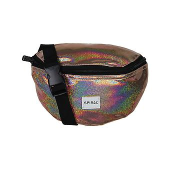 Spiral Champagne Rave Bum Bag