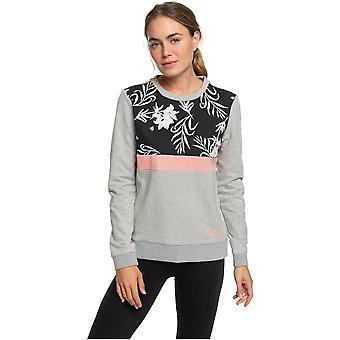Roxy Levation Avenue Sweatshirt in Heritage Heather