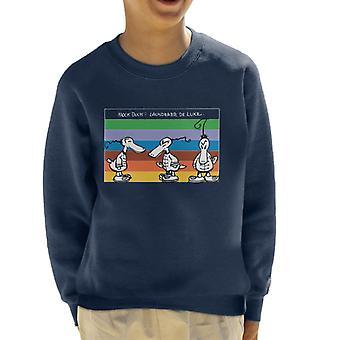 Krazy Kat Laundry De Luxe Rainbow Kid's Sweatshirt