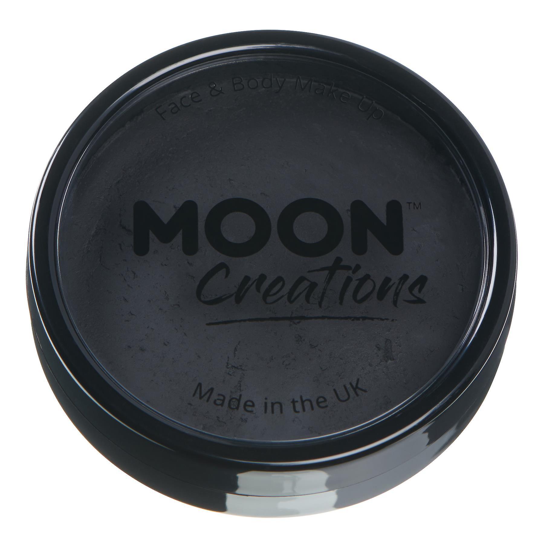 Moon Creations - Pro Face & Body Paint Cake Pots - Black