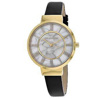 Ted Lapidus Women's Classic Marble white Dial Watch - A0713PARN