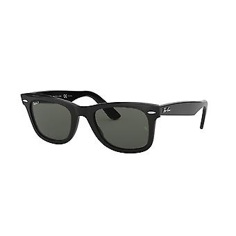Lunettes de soleil Ray-Ban Original Wayfarer RB2140 901/58 Black/Crystal Green