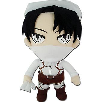 Plush - Attack on Titan - New Levi Cleaning 8'' Toys Soft Doll ge52777