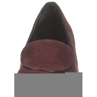 Kenneth Cole Reaction Womens Tip Wedge Loafer Leather Closed Toe Casual Platf...