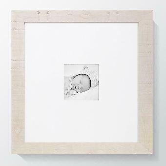 White Photo Frame Norfolk Picture Poster Wood Effect Wall Mounted Rustic Square UK Style