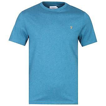 Farah Dennis petrol blauw T-shirt