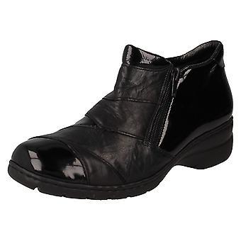 Ladies Rieker Fleece Lining Ankle Boots L4373