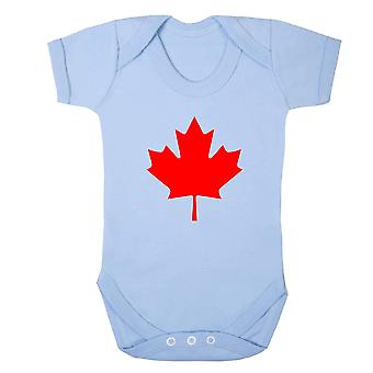 Canada supporter babygrow
