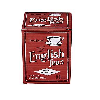 Vintage english breakfast tea 10 teabag carton