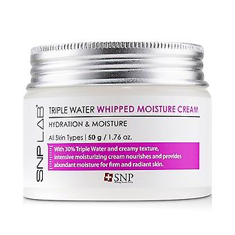 SNP Lab+ Triple Water Whipped Moisture Cream - Hydration & Moisture (For All Skin Types) 50g/1.76oz