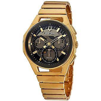 Bulova CURV Chronograph Mens Watch 97A144