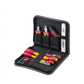 Wiha Tools 1000V VDE Professional Electrician Tool Case Kit