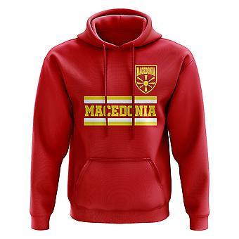 Makedonia Core Football Country Hoody (rød)