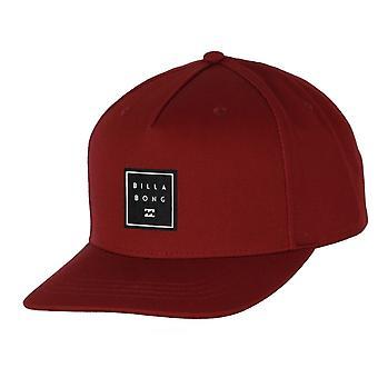 Billabong menn ' s SnapBack medium kurve cap ~ stablet OxBlood