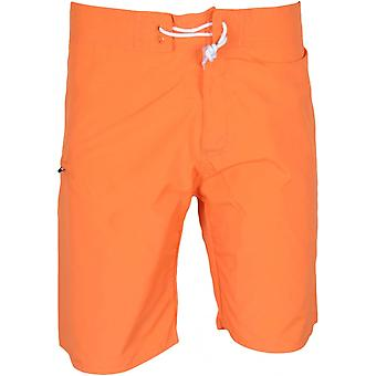 Franklin & Marshall Ua950 Beachwear Unisex Bright Orange Swim Shorts