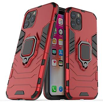 For iPhone 11 Pro Protective Case, Shockproof Armour Case, Red