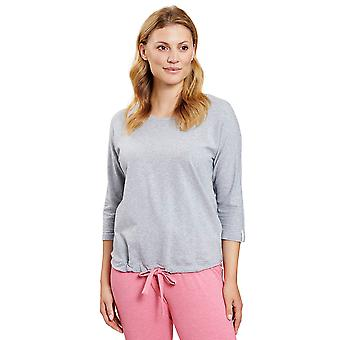 R'sch 1202016-11722 Femmes-apos;s Be Happy Heather Grey Pyjama Top