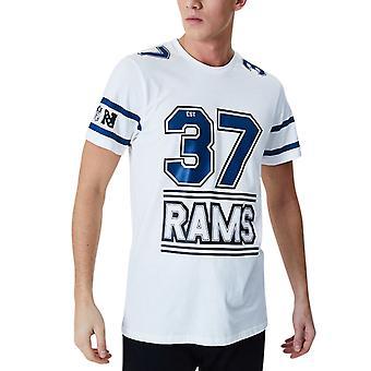 Новая эра ESTABLISHED Рубашка - Лос-Анджелес Рамс Уайт