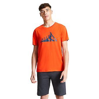 Dare 2b Mens integrieren Baumwolle Casual Grafik T Shirt t