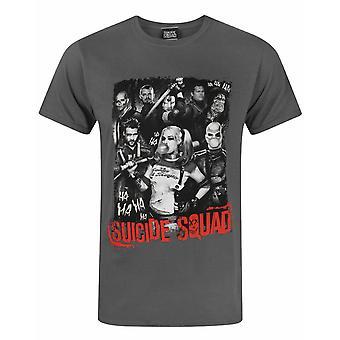 Suicide Squad Ha Ha Unisex T-paita