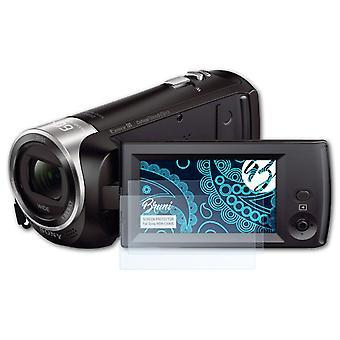 بروني 2x شاشة حامي متوافق مع سوني HDR-CX405 فيلم واقية