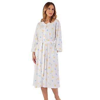 Slenderella HC55119 Women's Floral Robe Dressing Gown