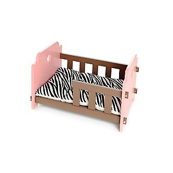 Ferribiella Cot Sweet Dreams 60X40X34 Pink (Katzen , Erholung , Betten)