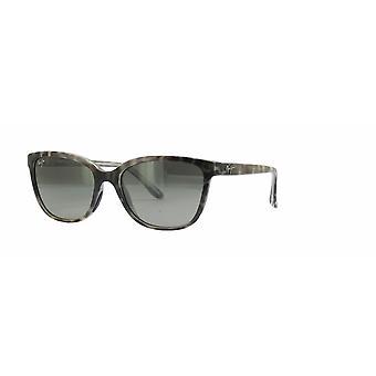 Maui Jim Honi GS758 11S Grey-Tortoise Stripe/Neutrale grijze zonnebril