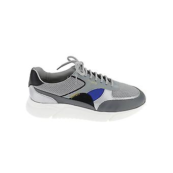 Axel Arigato 35032greycobaltblue Men's Grey Leather Sneakers