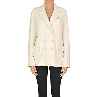Aspesi Ezgl050062 Women's White Cotton Blazer