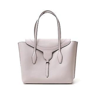 Tod's Xbwanxa8300n95b220 Women's Grey Leather Tote