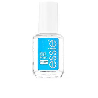 Essie Get It Bright Base Coat neutraliseert en verheldert 13,5 ml voor vrouwen