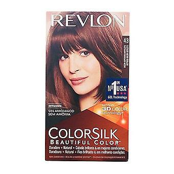 Dye No Ammonia Colorsilk Revlon Golden brown