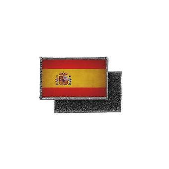 Patch ecusson prints vintage badge Spanish Spanish Spanish flag