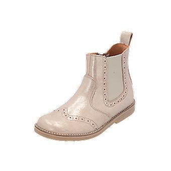 Froddo G3160078 Kids Girls Boots Gold Lace-Up Boots Winter