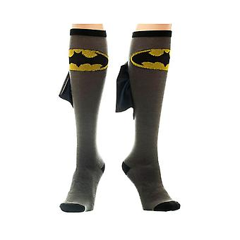 Women's DC Comics Batman Knee High Caped Socks