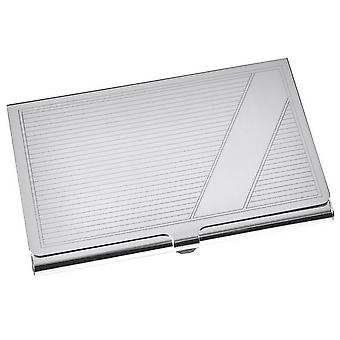 Orton West Card Case - Silver