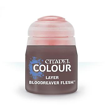 Bloodreaver Flesh (12ml), Citadel Paint - Layer, Warhammer 40k/Age of Sigmar