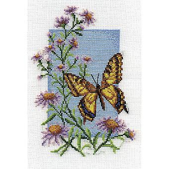Panna Cross Stitch Kit : Swallowtail Butterfly