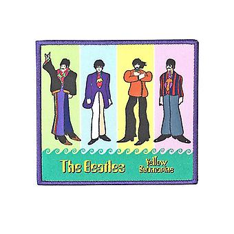 The Beatles Patch Yellow Submarine Band In Stripes Oficial bordado Hierro en