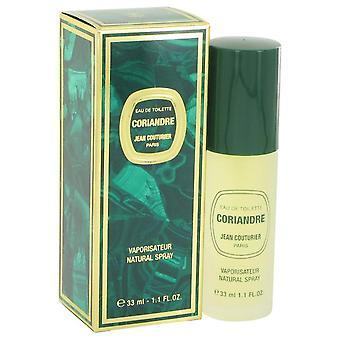 Coriandre Eau De Toilette Spray By Jean Couturier 1.1 oz Eau De Toilette Spray