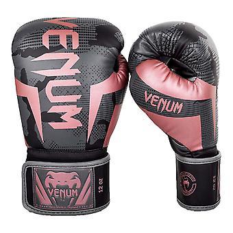 Venum Elite Boxing Gloves Black/Pink