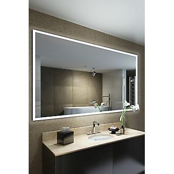 Audio fürdőszoba matt él világít tükör Bluetooth, érzékelő k1422aud