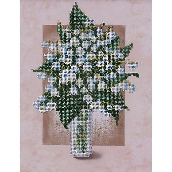 VDV Bead Embroidery Kit - Lily of the Valley
