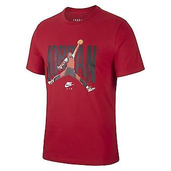 Nike Jordan Sleeve Crew CJ6304687 uniwersalny przez cały rok męski t-shirt