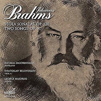 Viola Sonatas / Two Songs [CD] USA import