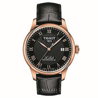 Tissot T006.407.36.053.00 Reloj automático de marcación negra hombres's