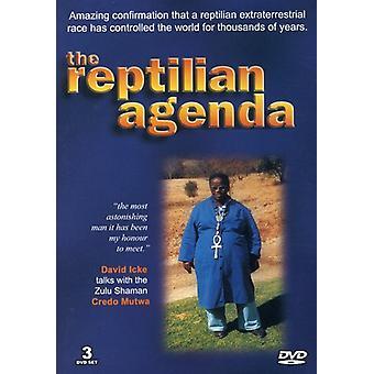 David Icke: The Reptilian Agenda [DVD] USA import