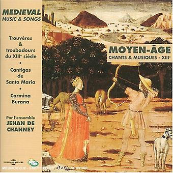 Medieval Music & Songs [CD] USA import
